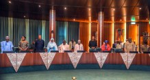 The FEC Meeting presided by Vice President, Yemi Osinbajo