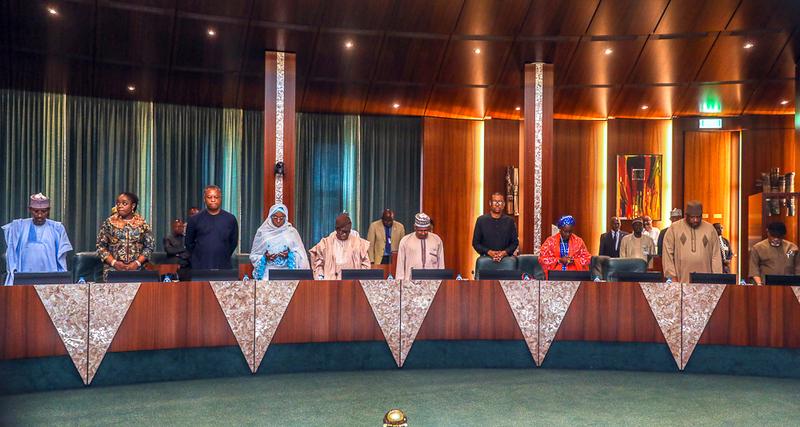 The FEC Meeting presided by Vice President, Yemi Osinbajo