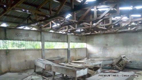 A lab at Govt Secondary Sch, Nto Nsek, Essien Udim