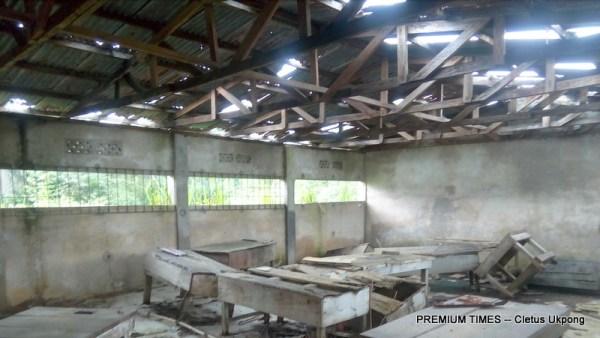 A lab at Govt Secondary Sch, Nto Nsek, Essien Udim