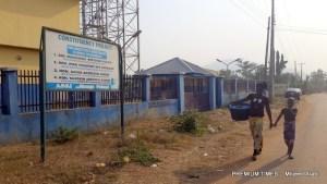 Abandoned Ife-Odan mini water scheme with Ileri-Oluwa and her sister in search of water