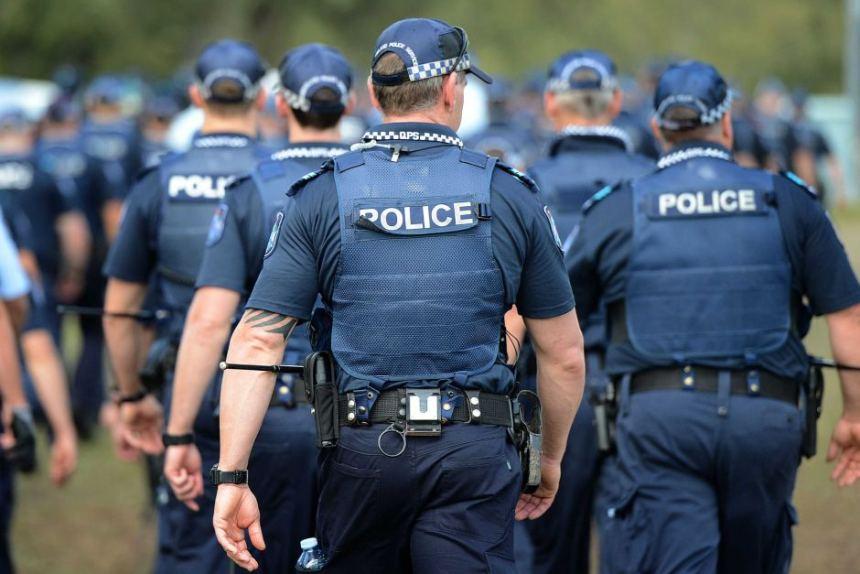 Australian Police. [Photo credit: ABC]