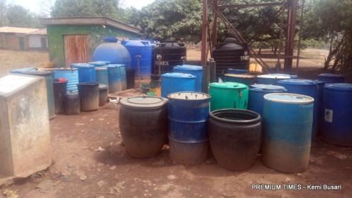Buckets on queue