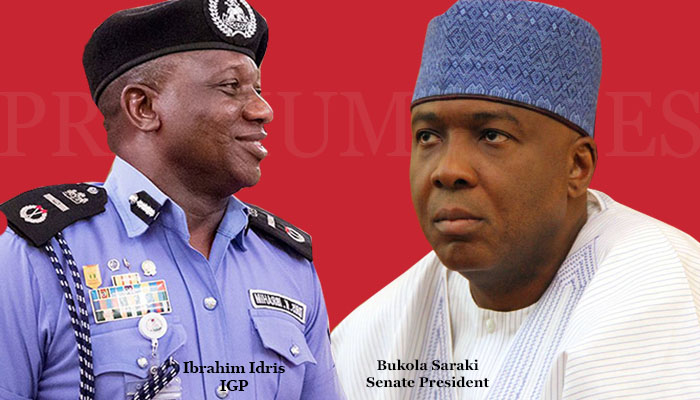 Saraki Cries Out: Police IG Ordered 'Cultism Suspects' To Implicate Me
