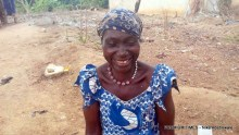 Binta Nuhu, a Traditional Birth Attendant at Igu, a community in Bwari, a suburb town in the Federal Capital Tertitory.