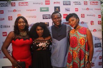 Jide Kosoko, Uche Jombo, Cossy Orjiakor, others at Kondo Game premiere