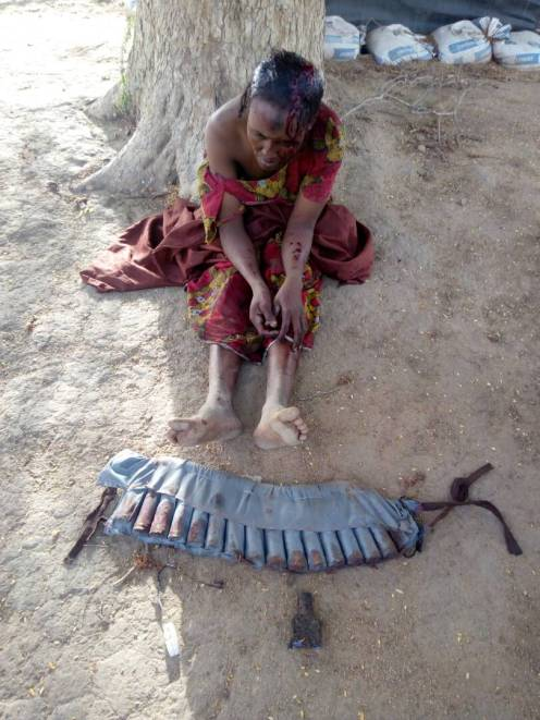 A female Boko Haram suicide bomber