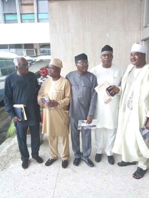 Odia Ofeimun, Femi Ojudu, Ajibade, Osoba and other guests