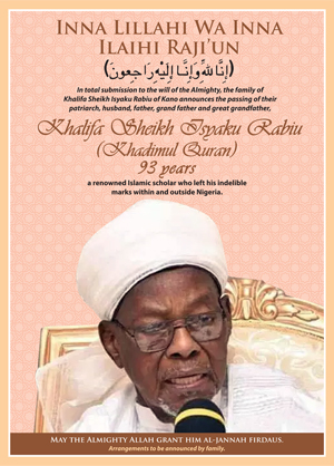 ISAYKU RABIU Advert