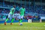 Nigeria vs Congo D.R (Photo Credit: @modovictorekene on Twitter)