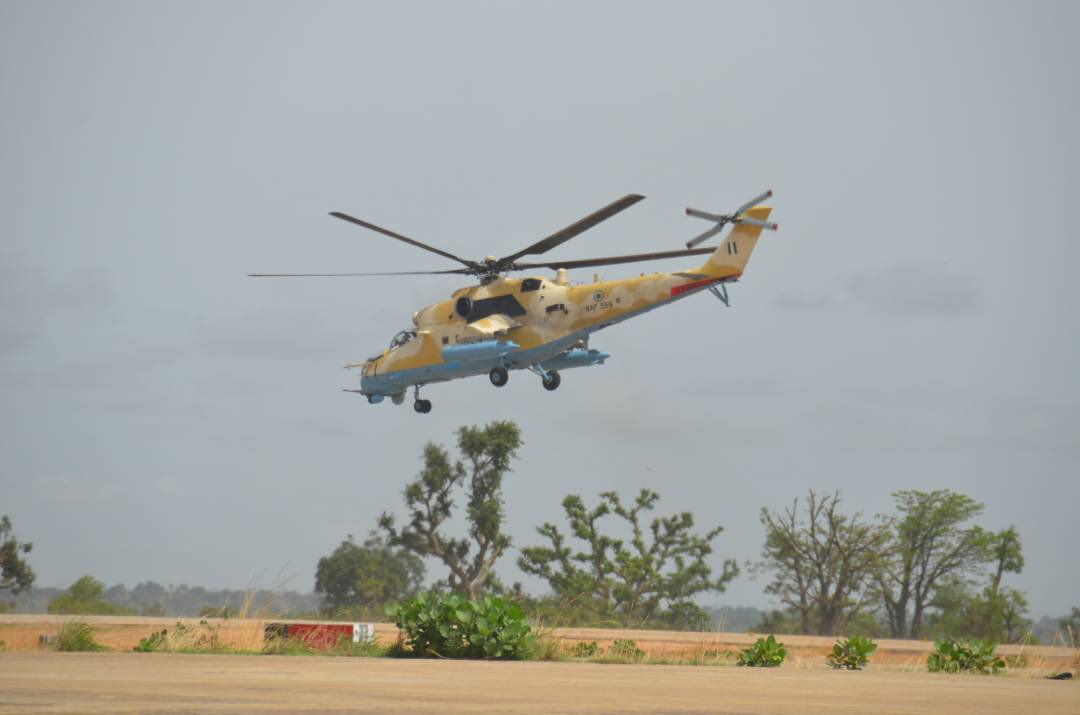 Insurgency: Naf Initiates Free Medical, Feeding Programme For Displaced Children