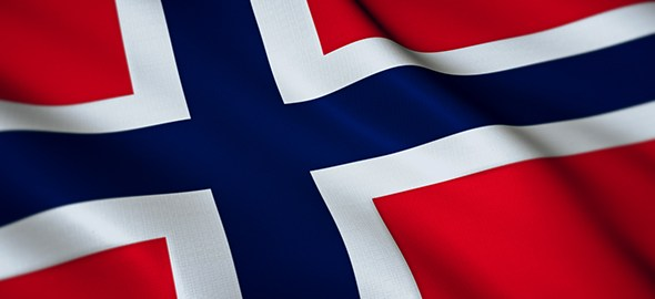 Norwegian flag used to illustrate the story. [Photo credit: VideoHive]