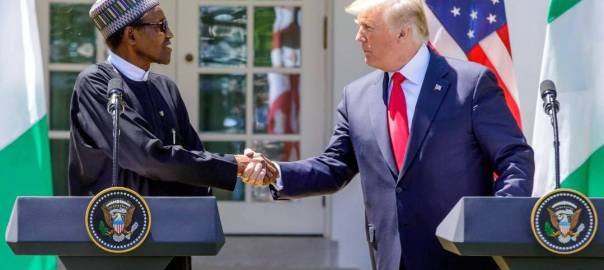 President Muhammadu Buhari's visit to President Donald Trump in the Oval Office and Press Conference in the Rose Garden