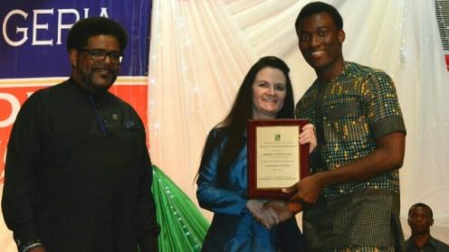 The best graduating student at AUN