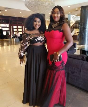 Uche Jombo and Maryam Harris