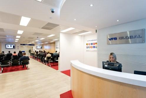 A VFS Global office