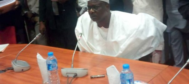Ali Ndume before the Investigative panel