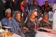 Well Wishers at Sir Shina Peters 60th birthday celebration party in Lagos