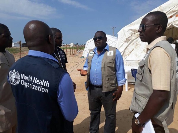 Joint NCDC/WHO Rapid Response Team during one of our outbreak response activities