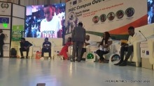 Cross section of panelists at the INEC Campus Programme