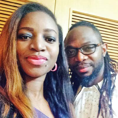 Korede Okungbowa and late husband