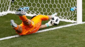 Colombia goal from Goal Line Technology