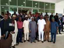 Atiku Abubakar visits Ekiti State Governor, Ayodele Fayose
