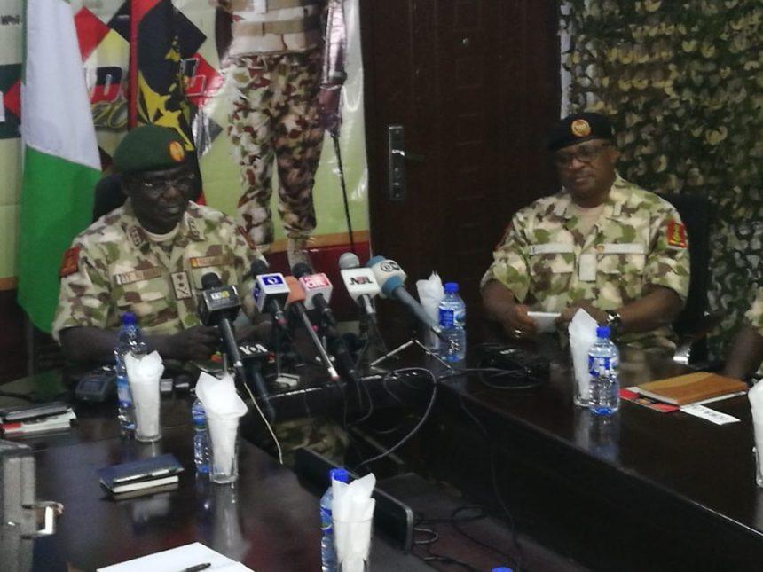 Nigeria's Chief of Army Staff, Tukur Buratai