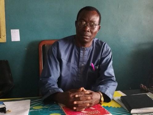 Mr. James Atoke, Vice Principal Chris School, Ado-Ekiti.