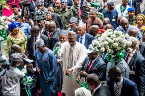 President Buhari commissions 1st Rice Seedlings Factory in Calabar, Cross Rivers State on 26th June 2018
