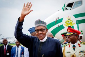 President Buhari returns to Nigeria from Morocco