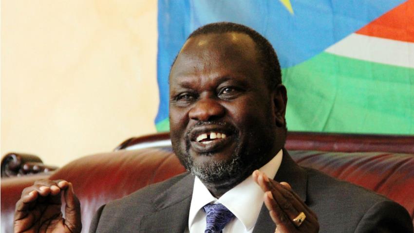 South Sudan's rebel leader, Riek Machar. [Photo credit: www.alaraby.co.uk ]