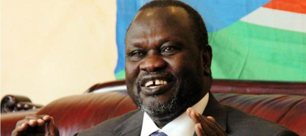 South Sudan's rebel leader, Riek Machar. [Photo credit: www.alaraby.co.uk ]