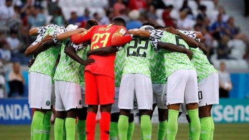 Super Eagles of Nigeria (Photo Credit: Reuters)