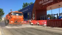 Truck sprays roads with vanilla to repel insects (Photo Credit: ABC News)