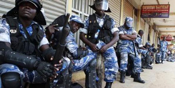 Ugandan police