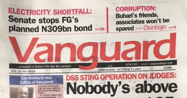 VANGUARD-NEWSPAPER