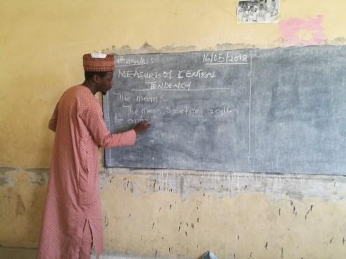 Yahaya Magaji, an N-Power teacher in Kano