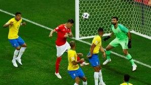 Zuber's equalizer for Switzerland against Brazil