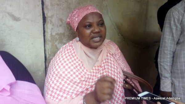 Hajia Nike Abdul Rahman, parent of an applicant for the CCECC schorlaship.