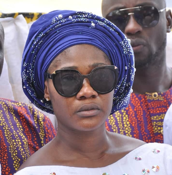 Nollywood Actor, Mercy Johnson mourns mother