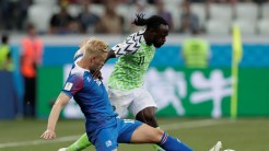 Victor Moses in action against Iceland [Photo: Reuters]