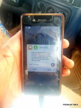 Campaign Text Messages are going round to mobile phones of voters in Ekiti to vote a particular party.