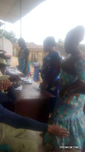 11:49am unit 001,Ijero ward B, The PO, Mr Badom confirms that the exercise has been hitch free since the commencement of the voting by 8am
