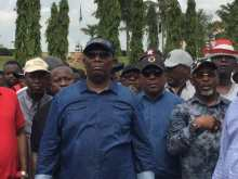 Secondus leads PDP protest to National Assembly over alleged brutality