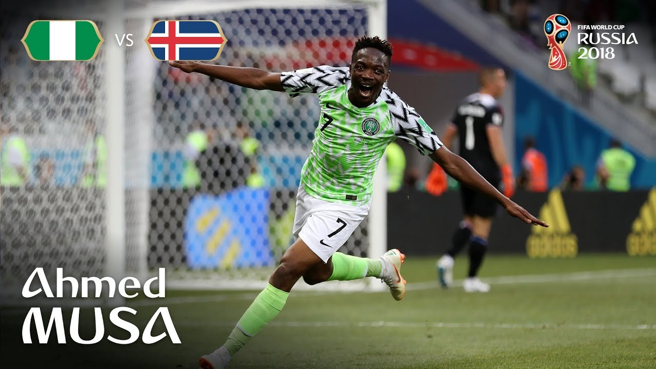 ca9d7be349e Russia 2018: Ahmed Musa gets nomination for Goal of the Tournament