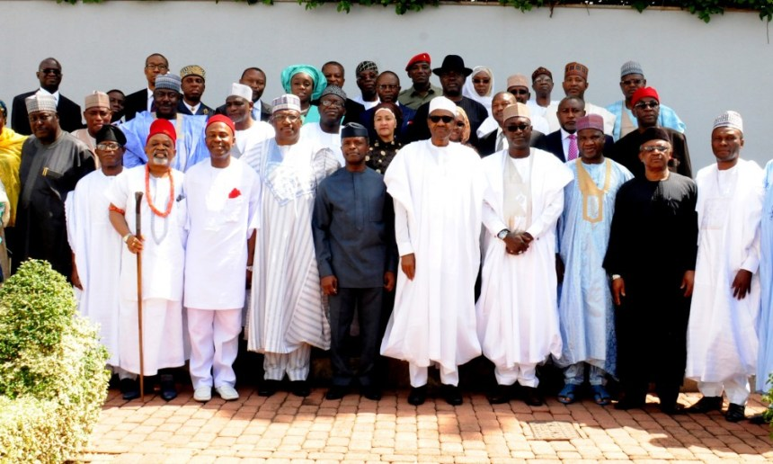 Buhari and ministers