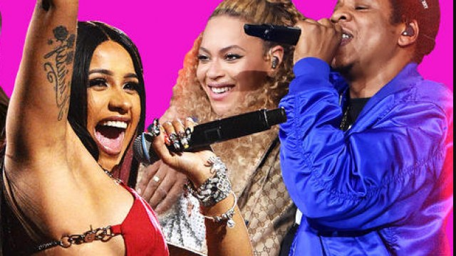 Cardi B, Beyonce and Jay Z Photo-Jonnit.com