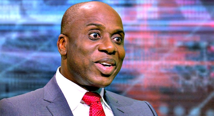 Minister of Transportation, Chibuike Rotimi Amaechi. [Photo credit: Qed.ng]