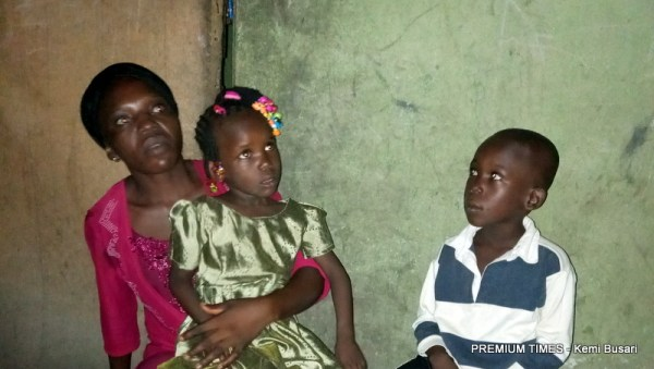 Comfort and her children